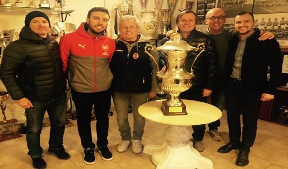 Manager del settore giovanile Arsenal in visita alla Virtus!
