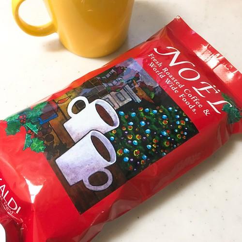 コーヒー豆 カルディ ノエル 2016.12