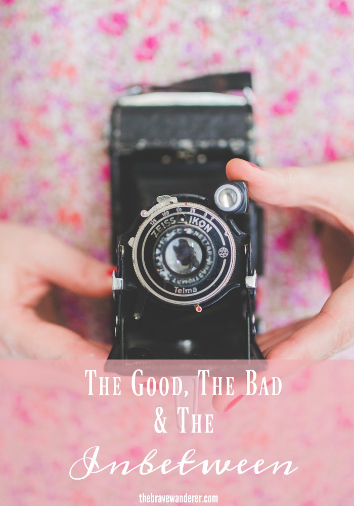 We have to enjoy the good things that happen to us, acknowledge and let go of the bad and be happy about the inbetween. Come along and try for yourself.