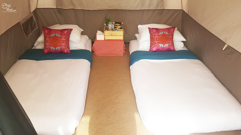 glamping camp for 2