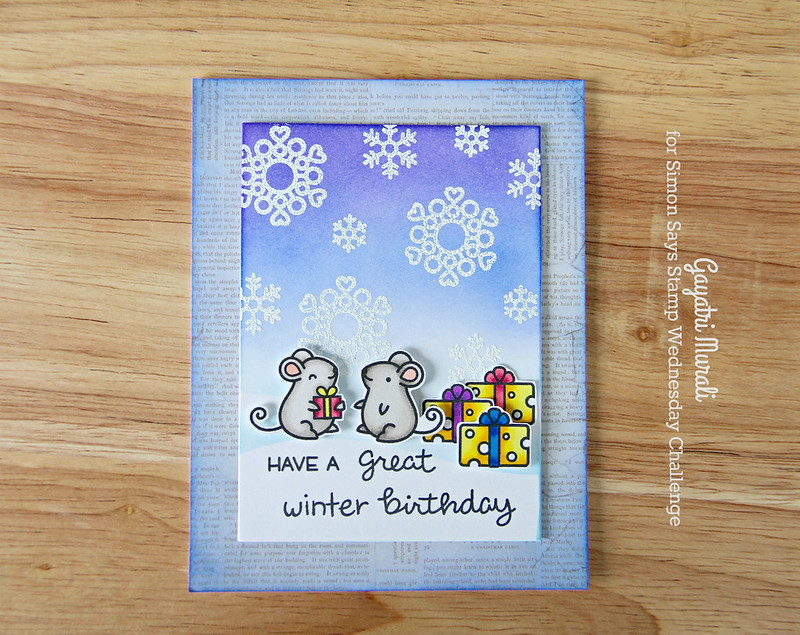 Winter Birthday flat