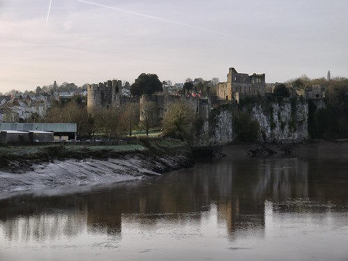 View from the Old Chepstow Bridge