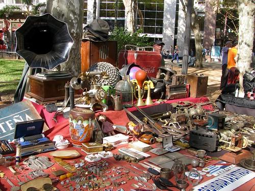 Feria de Antigüedades Plaza Constitución