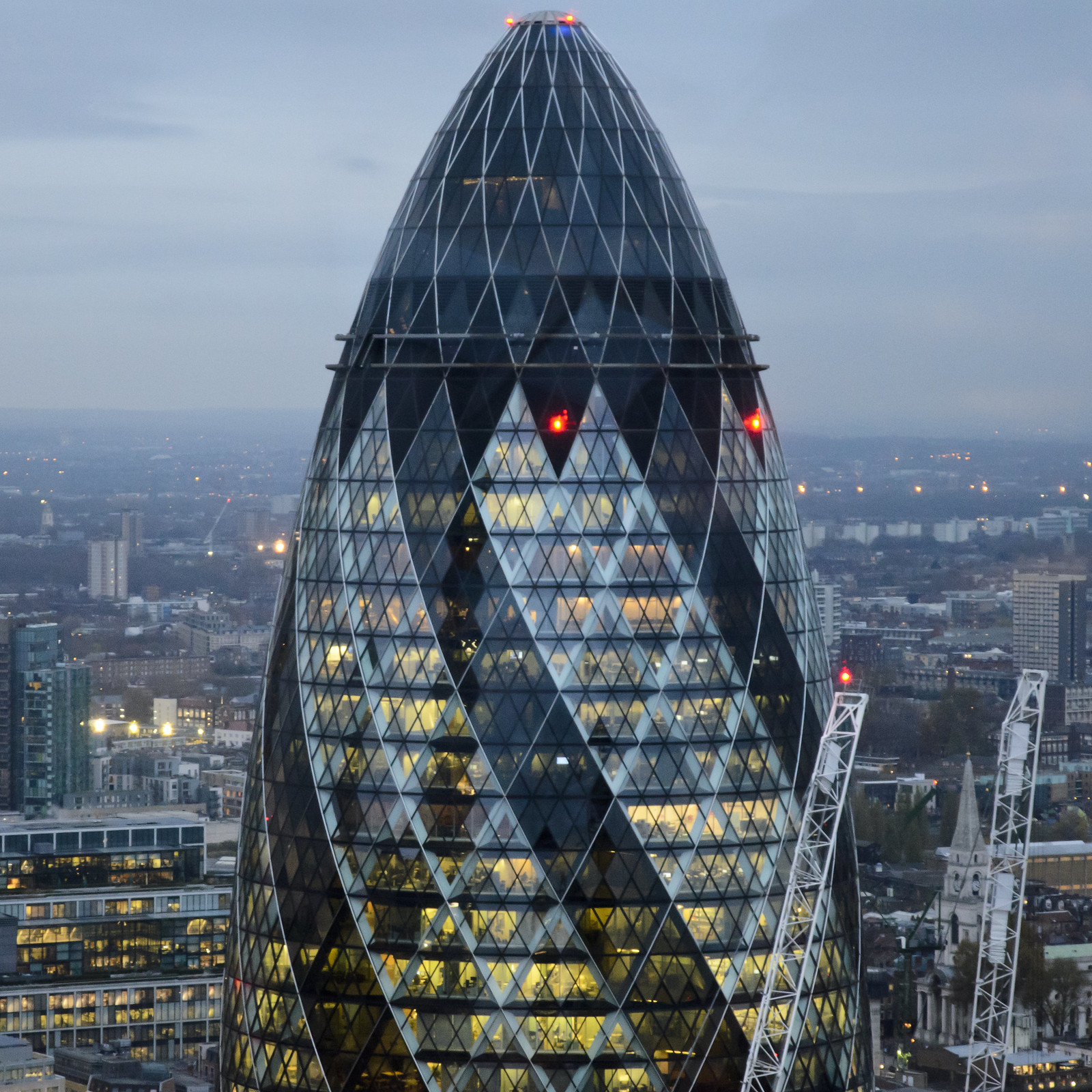 The Gherkin - Sky Garden - London - UK
