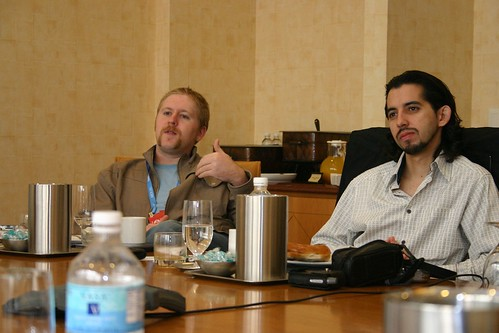 Joel Johnson (Gizmodo) and Brian Crecente (Kotaku) | by johnporcaro