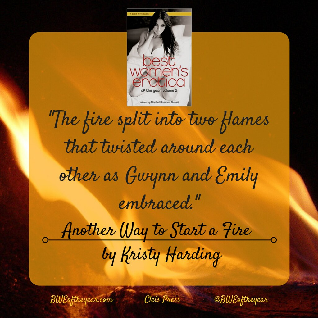 The fire split into two flames that twisted around each other as Gwynn and Emily embraced.-2