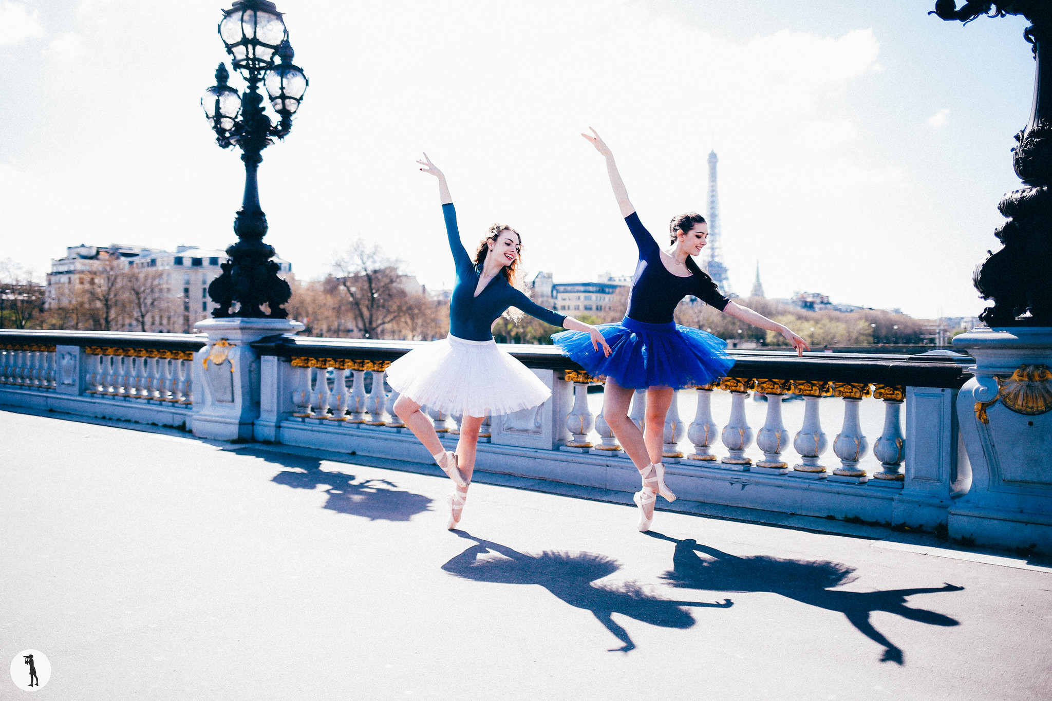 Ballet dancers from Opera Paris School. Danseuses classiques de l'école de l'opéra de Paris. Photo shooting by Marie-Paola BERTRAND-HILLION