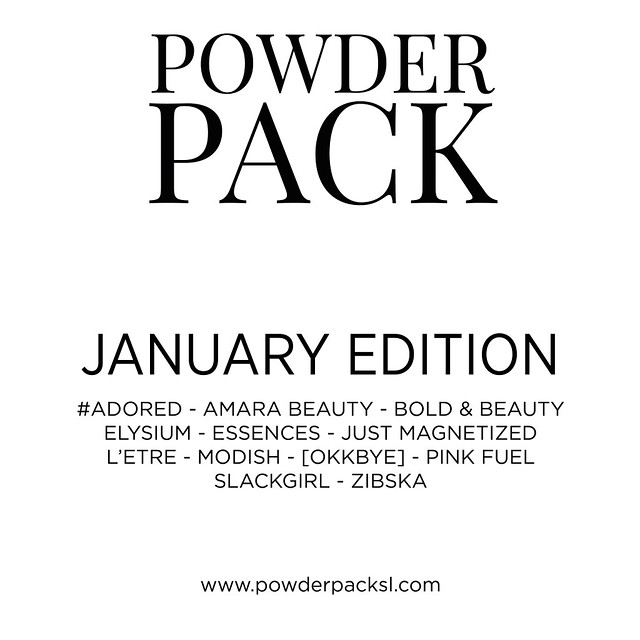 Powder Pack | January