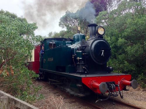 Bellarine Railway steam engine