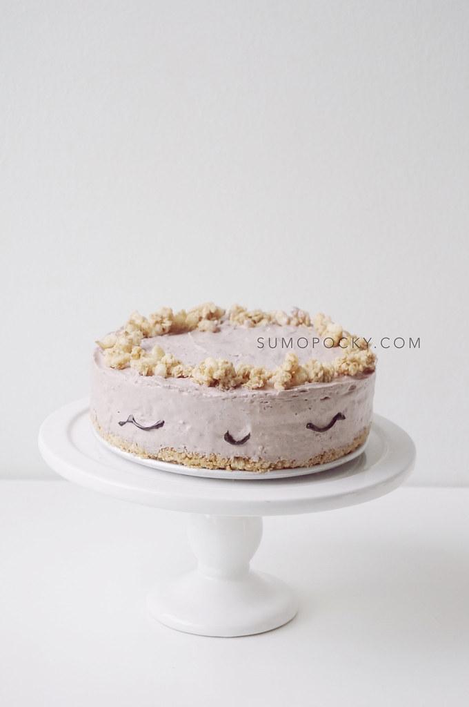 acai cheesecake