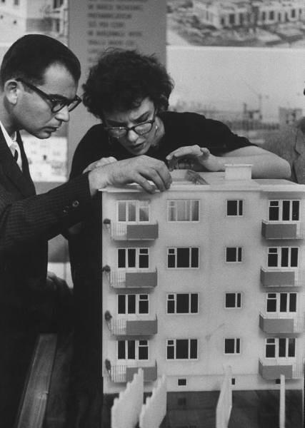 soviet apartment building