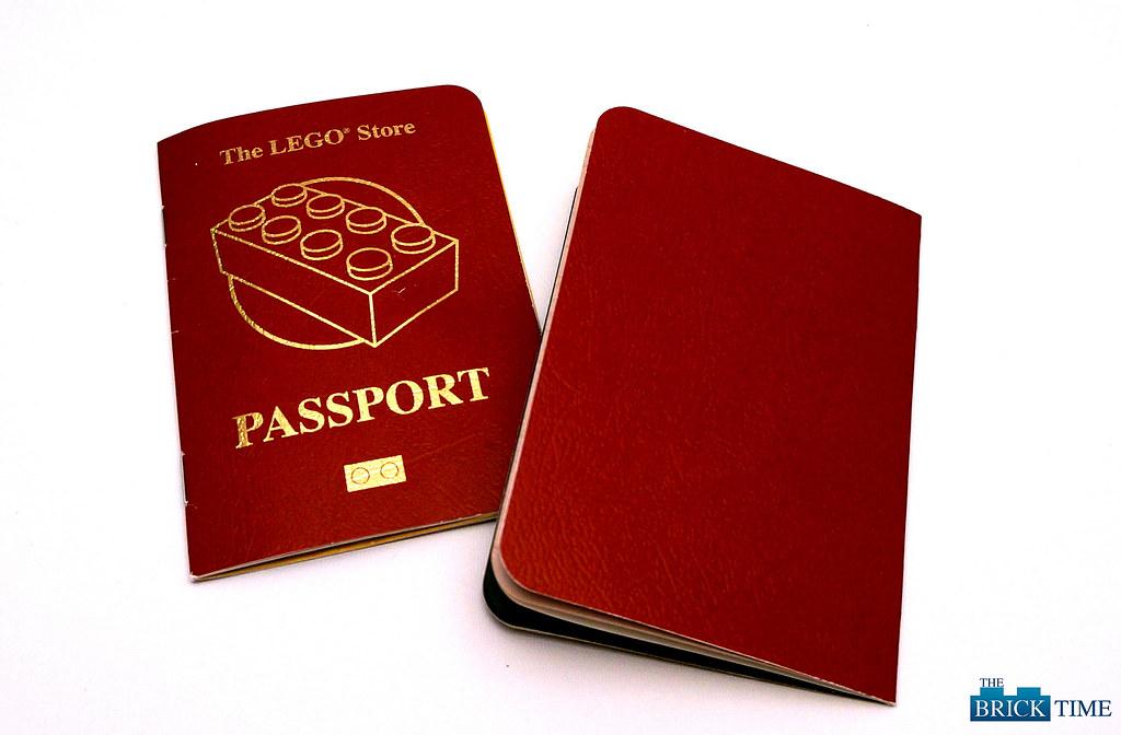 LEGO Store Passport