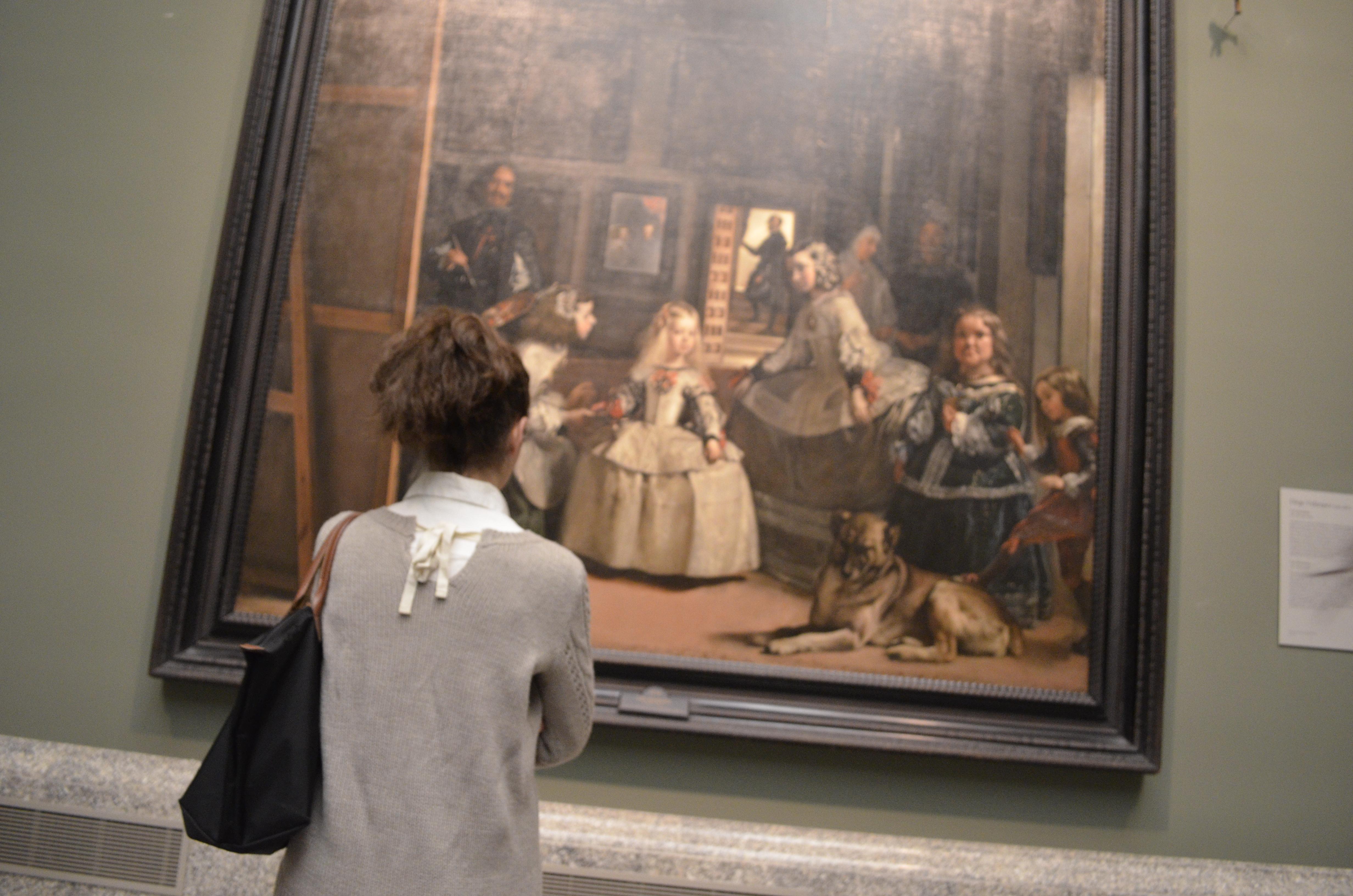 Las Meninas de Diego Velásquez, no Museu do Prado