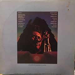 PHAROAH SANDERS:ELEVATION(JACKET B)