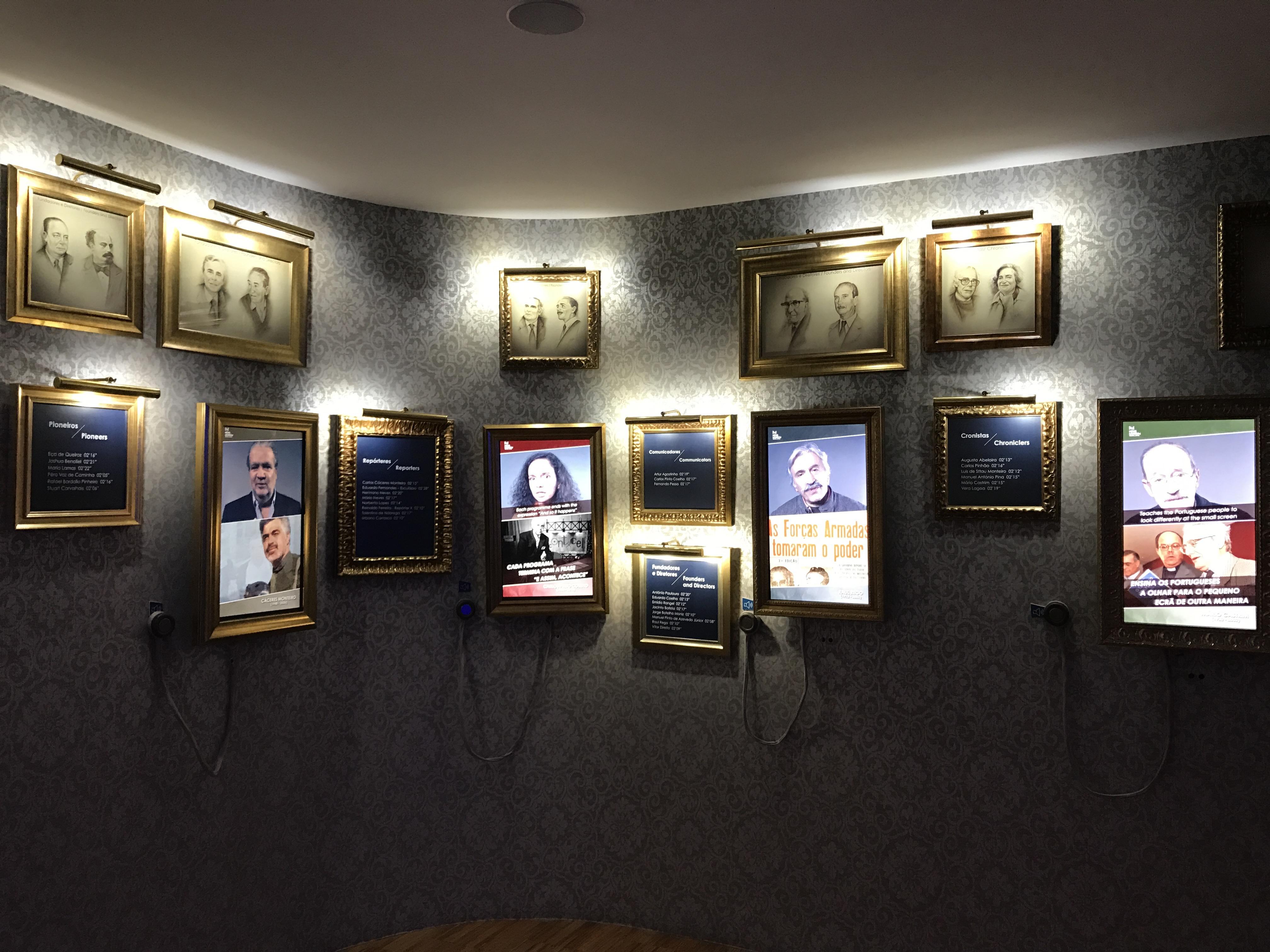 Sala dos Imortais, Museu da Notícias, Sintra