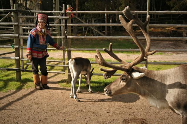 Aldea de Santa y Rovaniemi