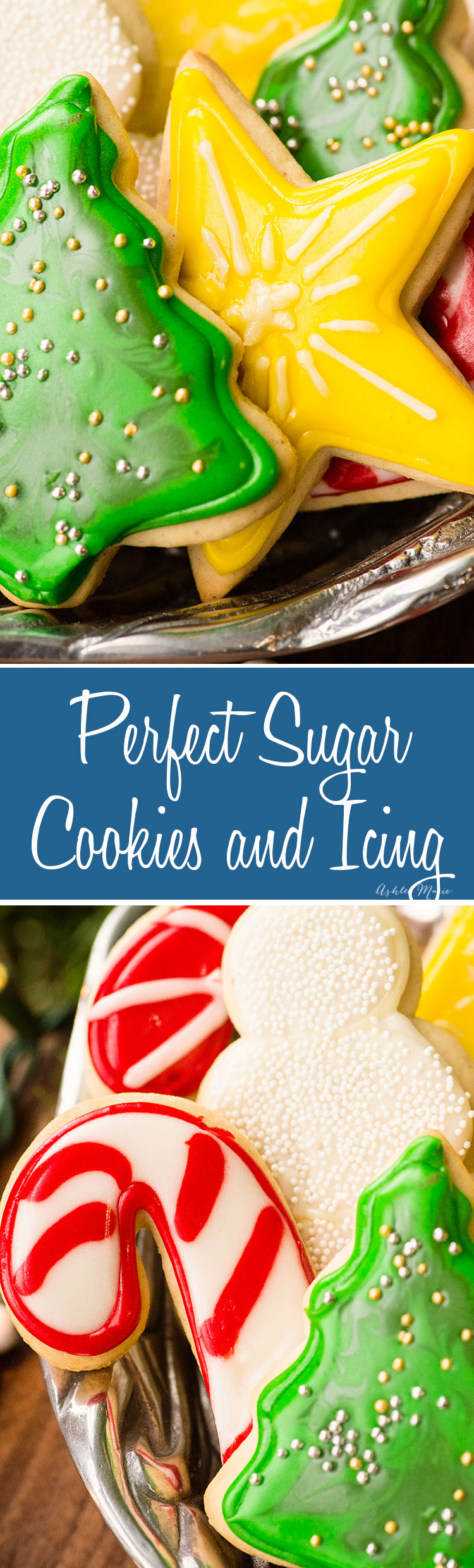 easy and delicious sugar cookie recipes with a video tutorial including tips for decorating
