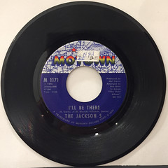 THE JACKSON 5:I'LL BE THERE(RECORD SIDE-A)