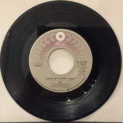 YES:OWNER OF A LONELY HEART(RECORD SIDE-A)