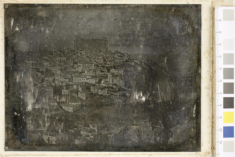Daguerrotipo de Toledo tomado hacia 1845 © Colección Soraia Molina y José Valderrey / Centro de Estudios de Castilla-La Mancha
