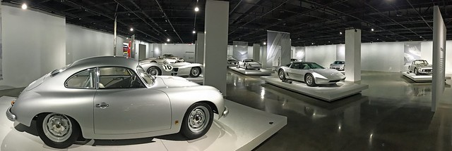 Room of Silvery Cars at The Petersen (1040)