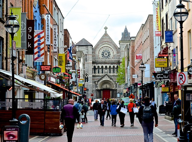 Grafton Street, St. Teresa's Church, Dublin,