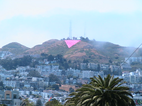 Pink Triangle in Twin Peaks | by Big Blue Ocean