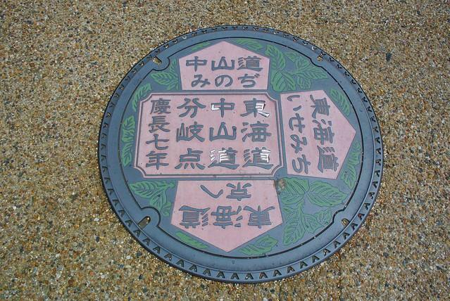 東海道と中山道の分岐点