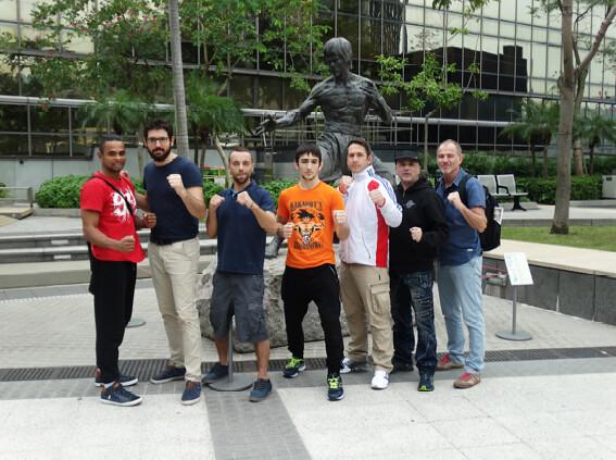 Ch. du Monde de MMA à Macao - Roman MOLODIJ en bronze