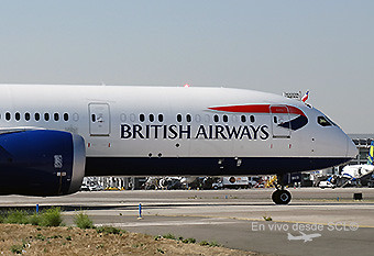 British Airways B787-9 SCL inaugural (RD)