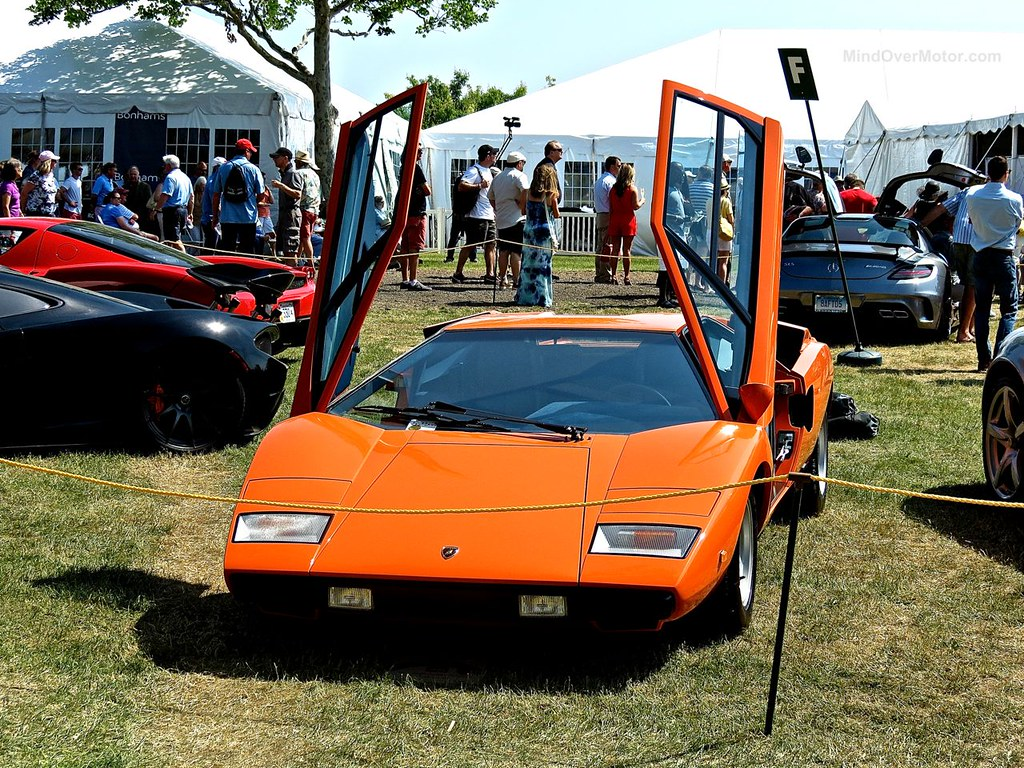 Lamborghini Countach Greenwich 1