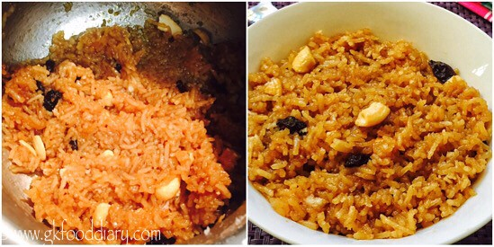 Jaggery Rice Recipe for Toddlers and Kids - step 5