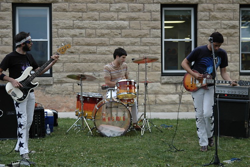 kicking out the jams with the high strung at the public library! | by snowdeal