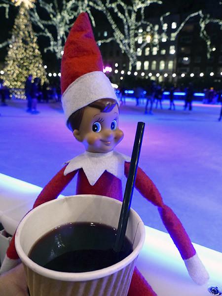 l'elfe et son vin chaud