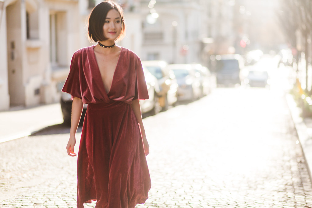 Zara velvet body