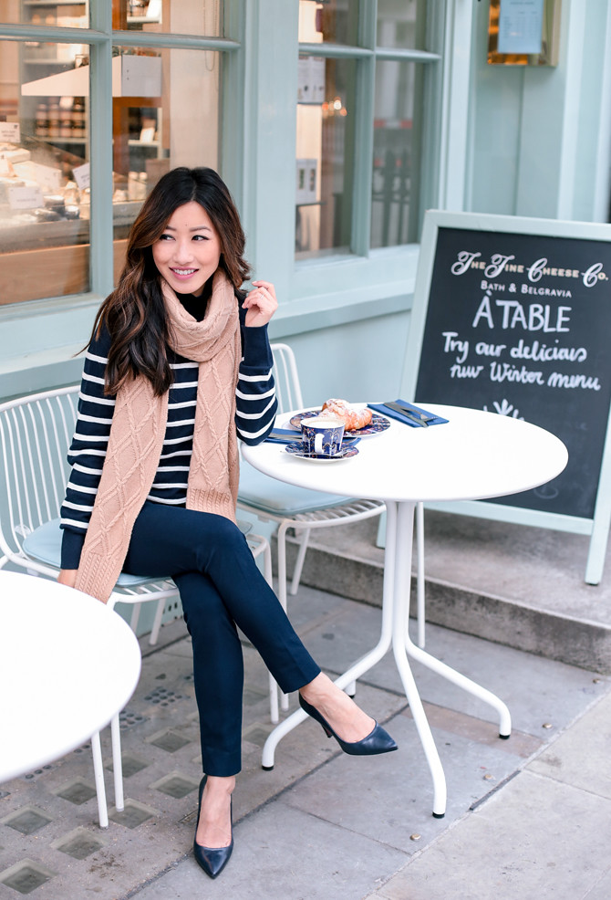 london cheese shop brunch cafe outfit extra petite blog
