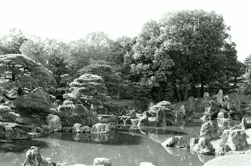 The garden of the Nijojo castle