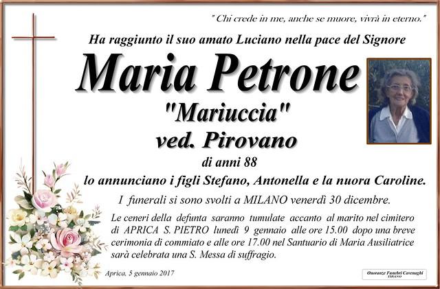 Petrone Maria