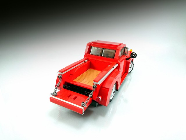 1948 Ford F1 - rear bed,  opening