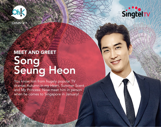 Song Seung Heon Saimdang in Singapore