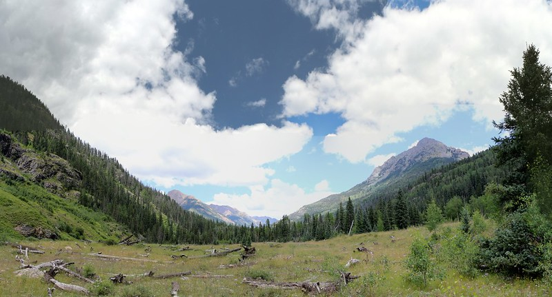 Thunder Mountain and Irving Peak