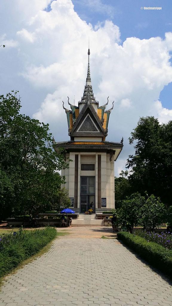 Stupa, Kuoleman kentät, Phnom Penh, Kambodza