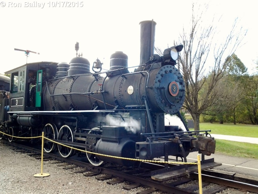 The recently-restored HSVR No. 3.