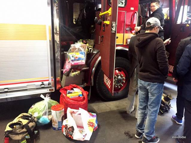 Toronto Fire Fighters Toy Drive