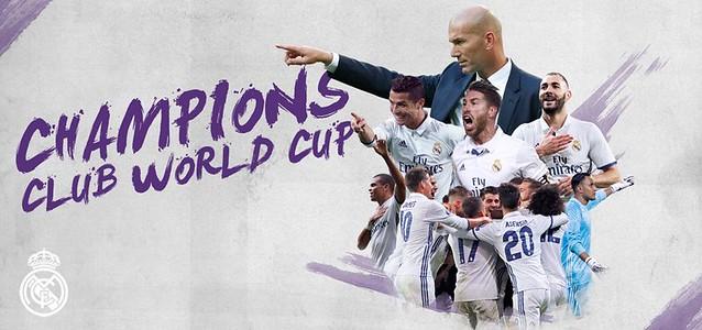 El Real Madrid Campeón del Mundial de Clubes