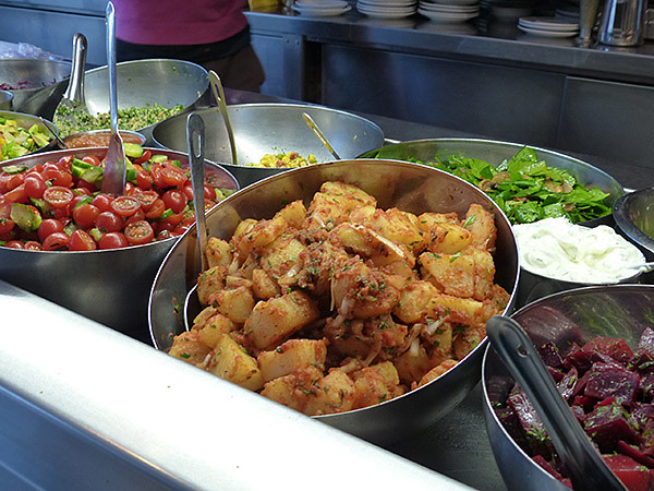 de jolies salades