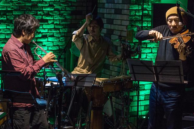 Satoko Fujii Quartet live at Cortez, Mito (Japan), 22 Dec 2016 -00521