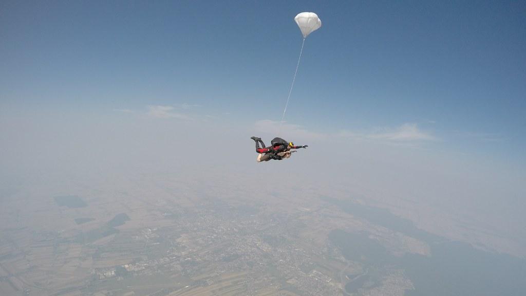 lot ze spadochronem