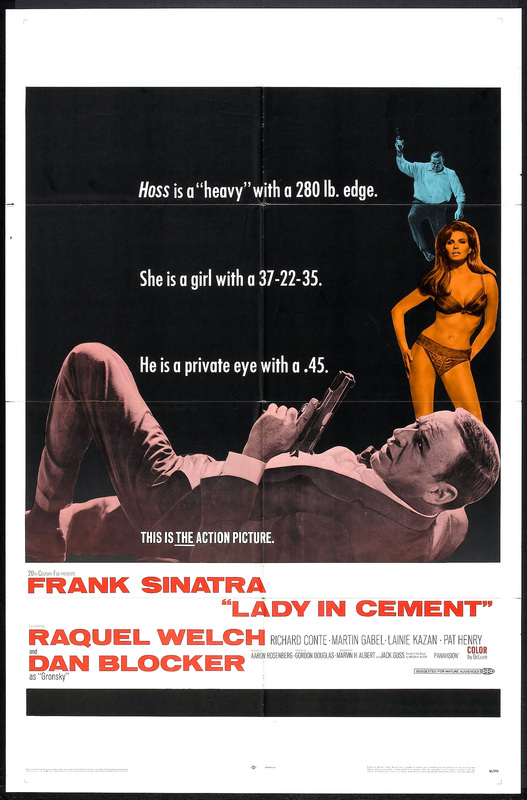 Lady in Cement - Poster 1