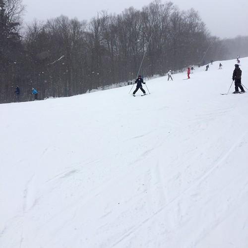 Ski day at Tremblant